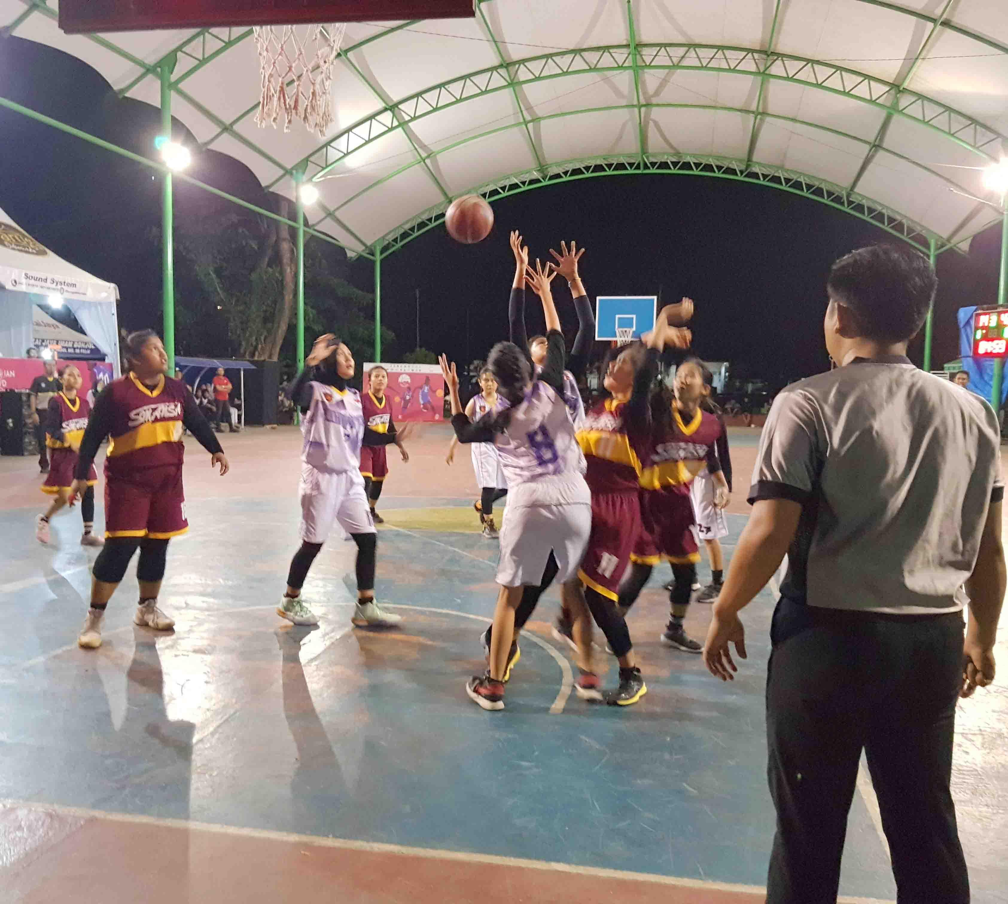 Tim Putri ABSA Juara Satu